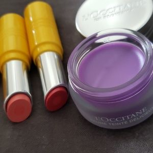 L'occitane Lip Balm & Tint Bundle